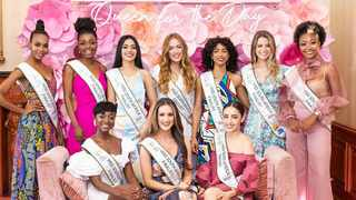 The Miss SA top 10 finalists. Picture: Instagram/@official_misssa.