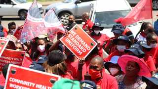 The National Education, Health and Allied Workers' Union (Nehawu), will decide at its special national executive committee (NEC) on Thursday on the government's latest public service wage offer. Picture: Doctor Ngcobo/African News Agency(ANA)