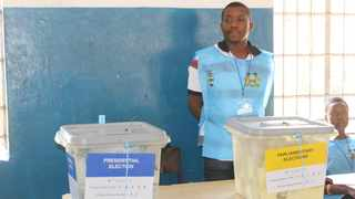 The National Electoral Commission in Sierra Leone announced that it is recounting votes at some polling stations before it declares final results. Picture: Xinhua/Kerifallah Janneh