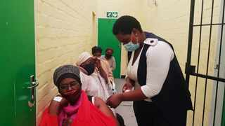 The National Health Department praised the country's health workers after more than one million senior citizens were vaccinated against the Covid-19 virus.