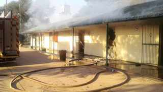 The Onverwacht Primary School, which was torched. Both the provincial government and City of Tshwane say it will not be rebuilt. Picture: Pretoria News