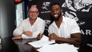 The Sharks confirmed the signing of Rugby World Cup winning Springbok captain, Siya Kolisi, who joined the team on a multi-year deal. Photo: Howard Cleland/The Sharks