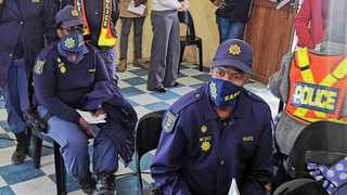 The South African Police Service (SAPS) is pushing ahead with its Covid-19 vaccination drive in the Eastern Cape. Photo: Supplied by SAPS