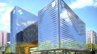The Standard Bank building (The Towers) in the CBD is set for a R500 million facelift. Picture: Supplied