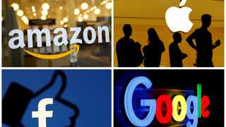 The US, Britain and other leading nations reached a landmark deal on Saturday to pursue higher global taxation on multinational businesses such as Google, Apple and Amazon. Photo: REUTERS/File Photos/File Photo