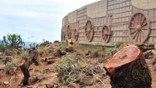 The Voortrekker Monument has been criticised after felling trees without following due processes. Picture: Oupa Mokoena/African News Agency (ANA)