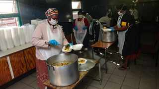 The Western Cape Government has started the roll-out of the 50 000 food parcels which the province has undertaken to fund and distribute. Picture Henk Kruger/African News Agency (ANA).