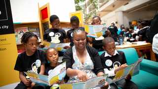 The World Literacy Awards have opened up applications for 2021 nominees. Picture: DANIEL BORN for NAL'IBALI