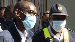 The acting head of the Gauteng Department of Community Safety Sipho Thanjekwayo in Mamelodi where he visited victims of gender-based violence. Picture: Jacques Naude/African News Agency (ANA)
