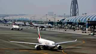 The airline has also extended the suspension on inbound passenger flights from India, Pakistan, Bangladesh and Sri Lanka to the UAE. Picture: AP