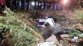 The car that Priscilla Pillay was driving was found in a stream in Silverglen on Monday.