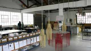 The chandelier is one of the biggest projects Cape Town lighting design company willowlamp has done.
