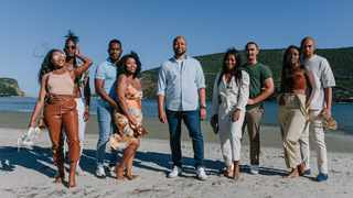 The couples from Temptation Island South Africa with host Phat Joe. Picture: Supplied