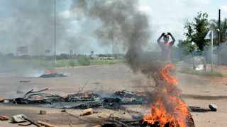 The damage caused by violent service delivery protests like this one cost the country R392m according to Salga. File Picture: Oupa Mokoena/African News Agency (ANA)