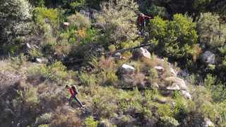 The death of Ken Stephen on Table Mountain brings home the dangers of going up the mountain alone... Picture: Armand Hough/African News Agency