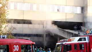 The emergency services at Charlotte Maxeke Academic Hospital following a fire that broke out in April. File picture: Itumeleng English/ African News Agency (ANA)