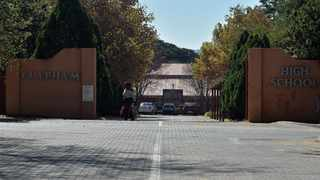 The entrance to Clapham High School where a Grade 11 boy learner fell sick and died. Picture: Oupa Mokoena/African News Agency (ANA)