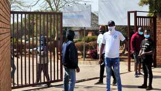 The entrance to Khensani Primary School in Soshanguve where a child was allegedly raped. Picture: Oupa Mokoena/African News Agency (ANA)