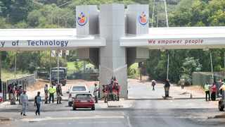 The entrance to the TUT main campus in Pretoria West. Picture: African News Agency (ANA)
