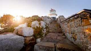 The famous lighthouse at Cape Point Nature Reserve. Pic: Supplied
