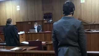 The father of the baby in court. Picture: Zelda Venter