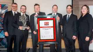 The first Factory of the Year award has been presented to Eberspächer South Africa. PHOTO: Supplied