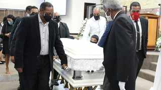 The funeral of makeup artist Sherne Pillay was held at Christ's Kingdom Ministeries in Sydeham. Picture: Zanele Zulu/African News Agency (ANA)