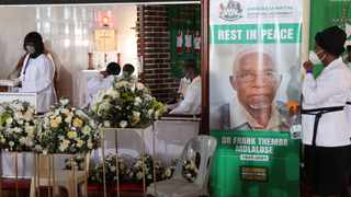 The funeral of the late Dr Frank Mdlalose, KZN's first democratic premier, was held in Madadeni township, Newcastle. Picture: Doctor Ngcobo/African News Agency (ANA)
