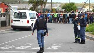The killing of a man in RR-section, Site B, Khayelitsha, on Saturday seemed to have been the catalyst for a bloody weekend in the sprawling township which, at last count, has left 13 people dead. Picture: Phando Jikelo/African News Agency (ANA)