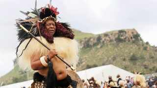 The late King Goodwill Zwelithini. Picture: African News Agency (ANA)