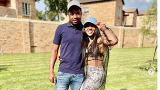 The late Mapule Khune with her soccer star brother Itumeleng. Picture: Instagram