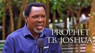 The late Nigerian televangelist TB Joshua died of unknown causes after a live broadcast on Saturday. Photo: Emmanuel TV
