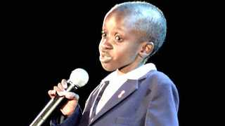 The late Nkosi Johnson, 11, addresses the XIII International Aids Conference at Kingsmead cricket stadium on July 9, 2000. Picture: Reuters
