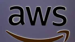 The logo for Amazon Web Services (AWS) is seen at the SIBOS banking and financial conference in Toronto, Canada. File picture: Chris Helgren/Reuters