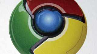 The logo for the Google Chrome Web browser.