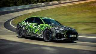 The new Audi RS3 is now officially the fastest compact car around the Nürburgring Nordschleife.