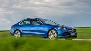 The new C-Class, S-Class and EQS will be able to warn other Mercedes drivers about potholes and speed bumps.