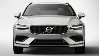 The new S60, which has yet to be revealed but which will share its face with the V60 pictured here, will be the first modern Volvo without diesel power.