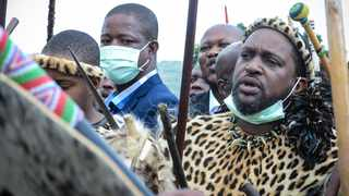 The office of the national police commissioner has confirmed that security for the newly named King of the Zulu nation Misuzulu kaZwelithini and the royal family in KwaZulu-Natal has not been withdrawn. Picture : Motshwari Mofokeng/ African News Agency (ANA)