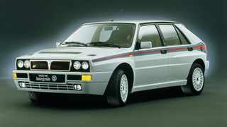 The original Lancia Delta Integrale was a legend on the rally stages and on the streets.