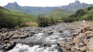 The original plan to establish a cable car route to the top of the uKhahlamba-Drakensberg range dates back several decades. Picture: John Yeld