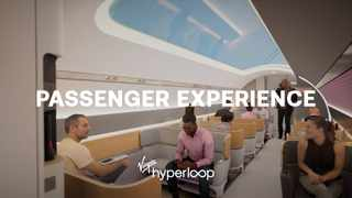 The pods will seat 28 passengers and could be customized for long and short distances, and for freight. Picture: YouTube.com