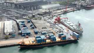 The port of Richards Bay is an export port that is valuable to South Africa. TPT
