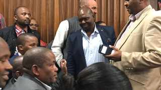 The raids that were undertaken by the Hawks at the office and home of Mayor Mongameli Bobani is related to allegations of tender fraud and corruption. Picture: Raahil Sain / ANA