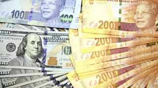 The rand shuffled backwards ahead of the release of South Africa's gross domestic product rate for the first quarter, with traders positioning for a poor data print, according to NKC Research. Photo: Reuters