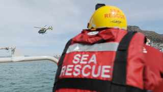 The search for a man continues offshore of Hout Bay after the NSRI team began their extensive search on Sunday. Photographer: Armand Hough/African News Agency (ANA)