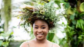 The symbol for Garden Day is a flower crown and Mogau Seshoene is just one of this year's Garden Day ambassadors who will be wearing this crown. Picture: Supplied
