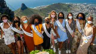 The top 10 Miss SA 2020 finalists. Picture: Henk Kruger/African News Agency (ANA)