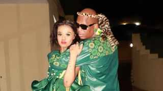 The traditional wedding was a lavish affair in Balito. Picture: @Mbali__Mthethwa/Twitter