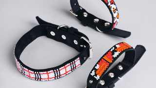 The unique collars were created in an effort to drive awareness around Relate's current dog collar range already available to consumers. Picture: Supplied